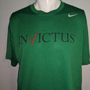 Nike INVICTUS Dri-Fit Shirt Large Excellent